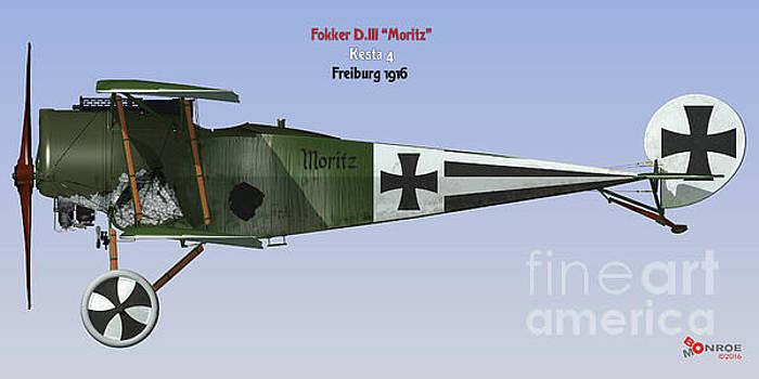 Fokker D.III Moritz by Bo Monroe