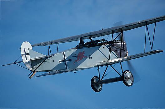 John Clark - Fokker D.VII in flight