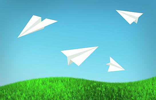 Ricky Barnard - Folded Flight