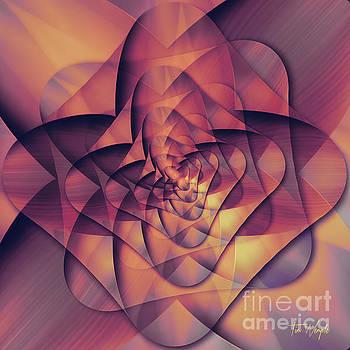 Folded Flower 2 by Tim Wemple