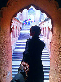 Follow me to Bada Imambara by Atullya N Srivastava