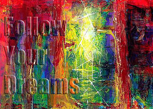 Thomas Lupari - FOLLOW YOUR DREAMS EMBOSSED