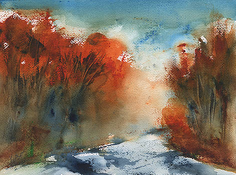 Following Autumn by Frank Bright