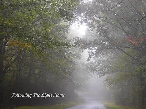 Following The Light Home by Diannah Lynch