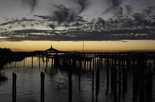 Folly Beach Dock by Will Burlingham