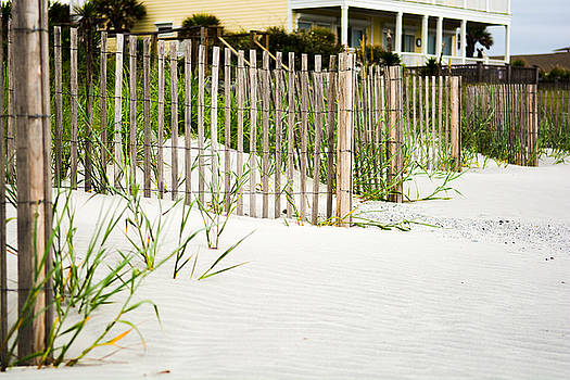 Folly Beach Fence by Dustin Ahrens