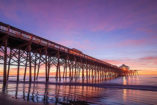 Folly Beach Fishing Pier by Steve DuPree