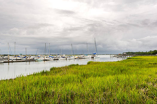 Folly Beach Marina by Dustin Ahrens