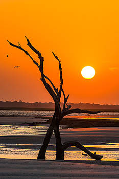Folly Beach Sunset by Dustin Ahrens