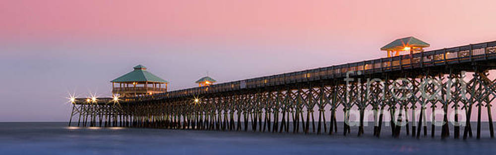 Folly Pier by Jerry Fornarotto