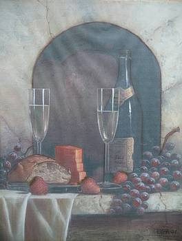 Food And Wine by Brenda Grigg