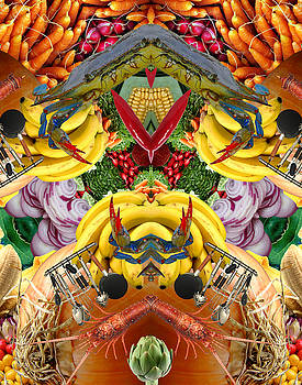 Food Collage 1 by Bruce Wood