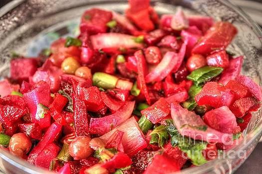 Food Salad Tomatoes by Yury Bashkin