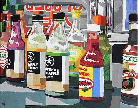 Food Truck Peppers by Melinda Patrick