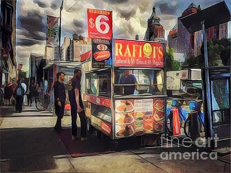 Food Truck - Union Square by Miriam Danar