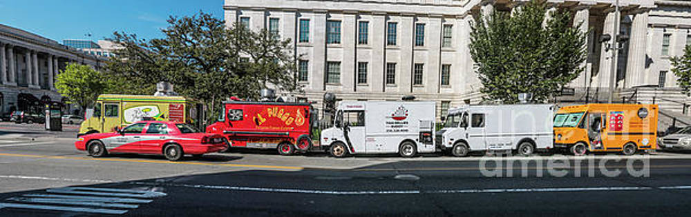 Food Trucks in Washington by Thomas Marchessault