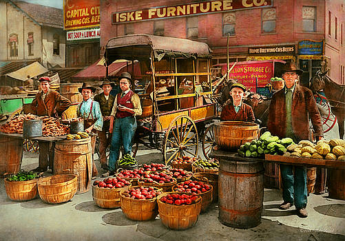 Mike Savad - Food - Vegetables - Indianapolis Market 1908