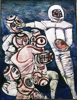 Football #3 by Anne Eaton Parker