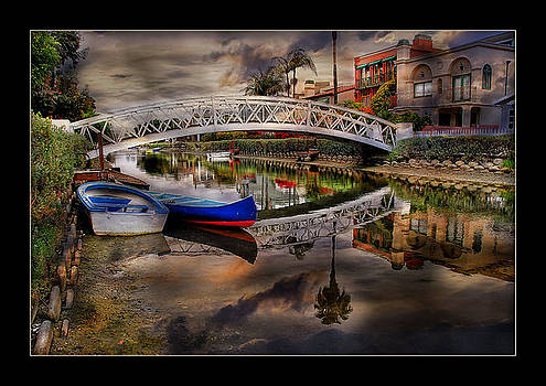 Footbridge Of Tranquility by Bob Kramer
