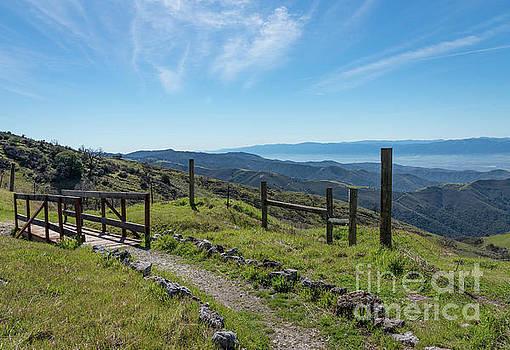 Footbridge on Fremont Peak  by Jeffrey Hubbard