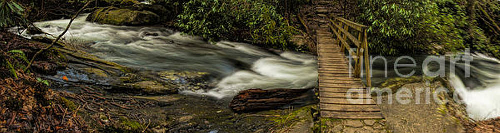 Barbara Bowen - Footbridge over Raging Moccasin Creek