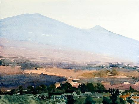 Foothills of Amiata by Roy Perkinson