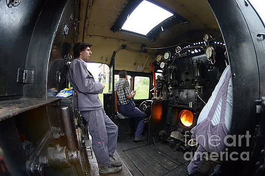 Footplate by Andy Thompson
