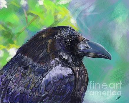 For Ever More the Raven by Barb Kirpluk