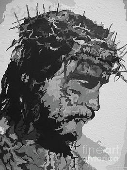 For HE So Loved - Jesus BW by Kelly Hartman