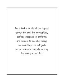 For if God is a... by Famous Quotes