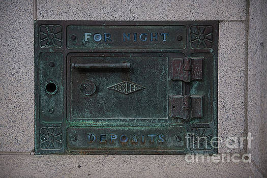 For Night Deposits by Dale Powell