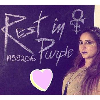 For The 💜 Of Prince  #musictherapy by Claudia Garcia Trejo