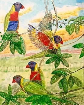 Larry E Lamb - For the birds