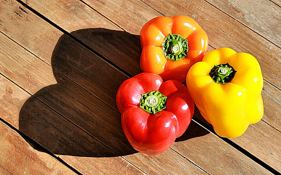 For The Love of Bell Peppers by Kori Creswell