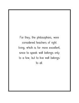 For they, the philosophers, were... by Famous Quotes