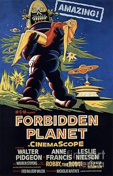 R Muirhead Art - Forbidden Planet Amazing Poster