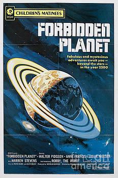 R Muirhead Art - Forbidden Planet classic movie poster
