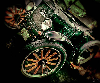 Ford 001 Large Canvas Art, Canvas Print, Large Art, Large Wall Decor, Home Decor, Photograph by David Millenheft