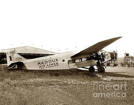 California Views Mr Pat Hathaway Archives - Ford 4-AT-A Maddux Air Lines Los Angeles circa 1928