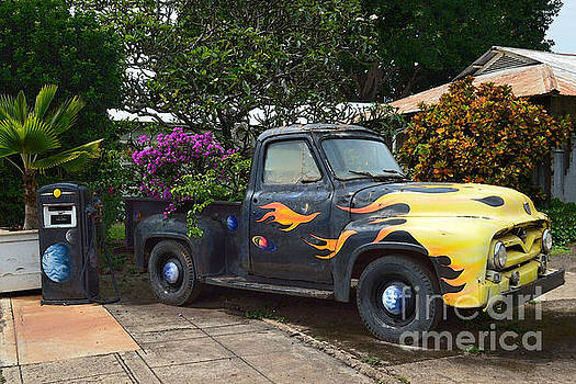 Ford F 100 Truck in Hawaii by Catherine Sherman