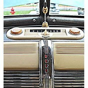 Ford Factory Radio #ford #factory by Paul Wesson