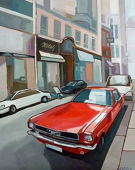 Ford Mustang by Carmen Stanescu Kutzelnig