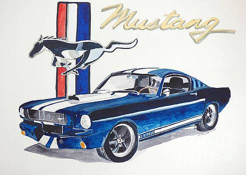 Ford Mustang by Eva Ason
