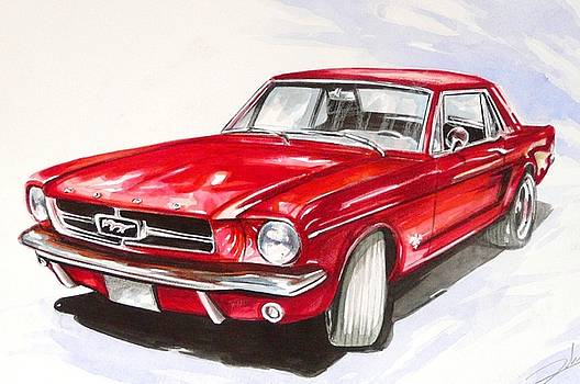 Ford Mustang  by Federico De muro