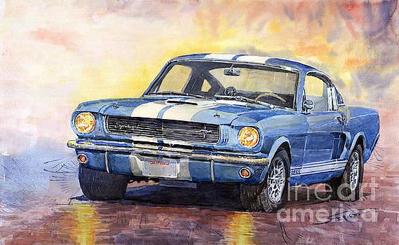 Ford Mustang GT 350 1966 by Yuriy Shevchuk