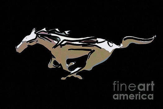 Dale Powell - Ford Mustang Horse Logo