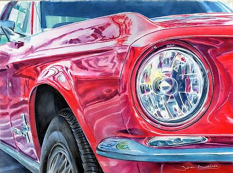 Ford Mustang by John Neeve