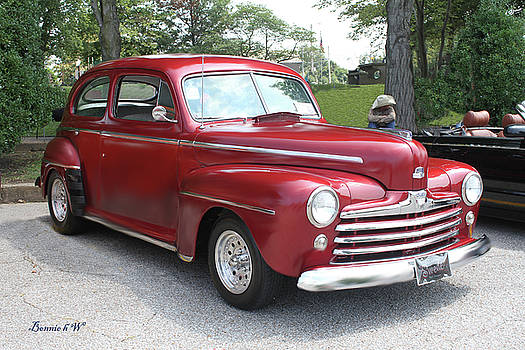 Ford Super Delux 1940's by Bonnie Willis