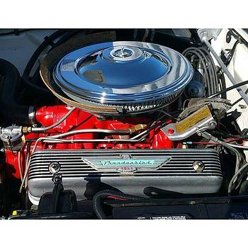 Ford Thunderbird Engine #ford #dodge by Paul Wesson