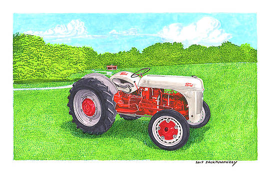 Ford Tractor 1941 by Jack Pumphrey